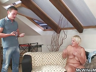 orgy with lascivious granny and her son in law