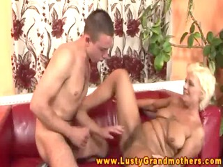 old curly granny pussylicked and drilled