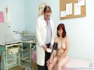 old zita mature muff speculum investigation at