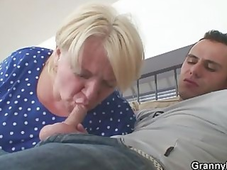 wild sex with obese aged blond