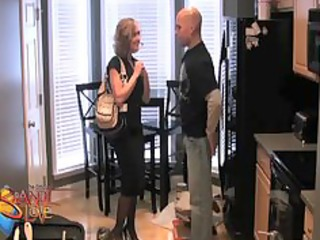 brandi love bonks the painter to get out of