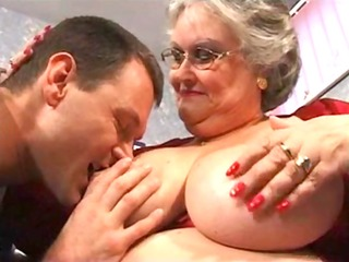 big beautiful woman granny sucks and fucks in