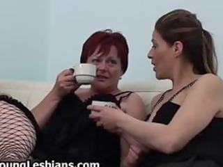 old lesbo redhead fucking with sexy part11