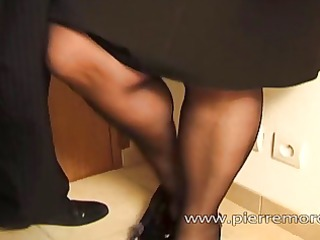 french older with large ass gets rough anal sex