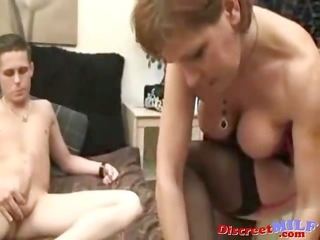 perverted british cougar acquire drilled by legal