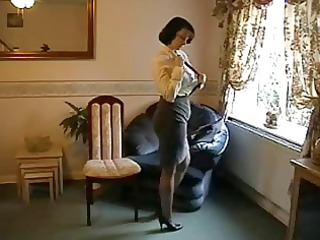 teasing d like to fuck in nylon nylons and heels